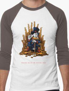 Game of Coins Men's Baseball ¾ T-Shirt