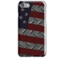 Tough As Steel American Flag iPhone Case/Skin
