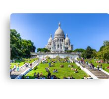 Sacre Coeur, Paris 3 Canvas Print