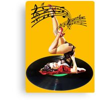 Rockabilly Goddess II Canvas Print