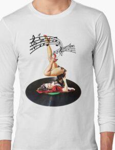 Rockabilly Goddess II Long Sleeve T-Shirt