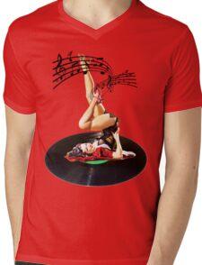 Rockabilly Goddess II Mens V-Neck T-Shirt