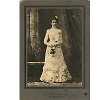 UNKNOWN LADY, LOUISVILLE, KENTUCKY Photographic Print