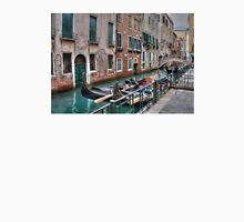 Gondolas In Venice Italy Unisex T-Shirt