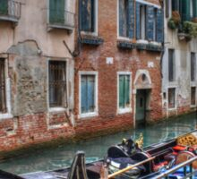 Gondolas In Venice Italy Sticker