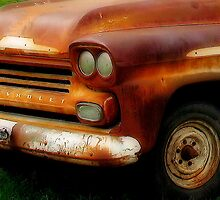 Rusted Chevrolet Apache by Sandra Moore