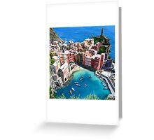 Under the Mediterranean Sun Greeting Card