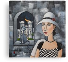 Earl Grey And Lady Grace Canvas Print