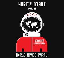 Yuri's Night World Space Party Unisex T-Shirt