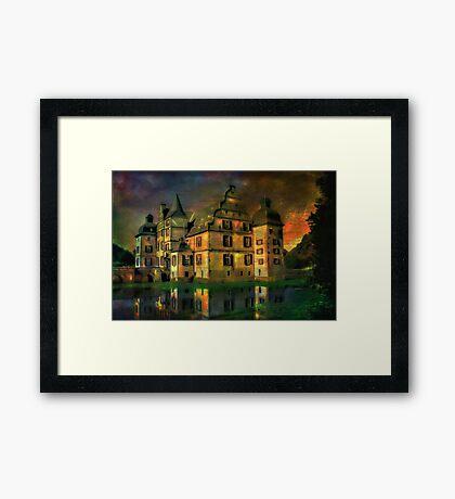 Water Castle ....... Framed Print