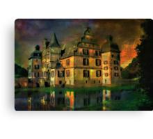 Water Castle ....... Canvas Print