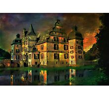 Water Castle ....... Photographic Print