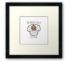 Muffin Top- 30 Rock Framed Print