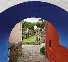 Tunnel Vision at Portmeirion by Mark Baldwyn