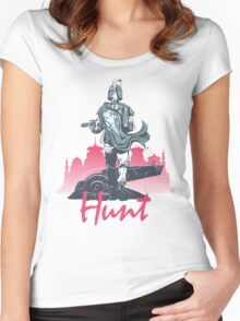 Hunt (light version) Women's Fitted Scoop T-Shirt