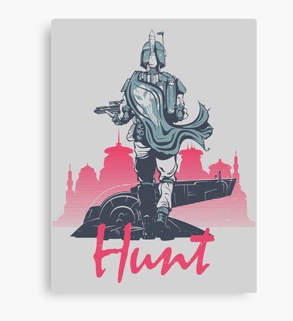 Hunt (light version) Canvas Print