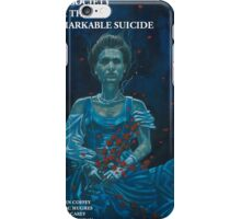 The Society for the Remarkable Suicide Barry McGowan iPhone Case/Skin