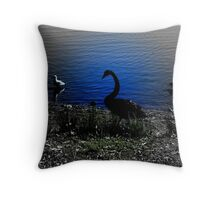 Grace and Beauty at Twilight Throw Pillow