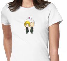 Sam & Jack - I heart you (Stargate SG-1) Womens Fitted T-Shirt