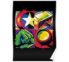Pop Avengers Poster