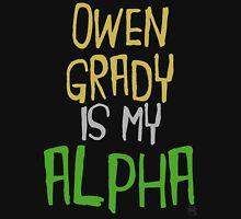 Owen Grady is My Alpha Womens Fitted T-Shirt