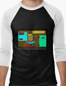 Aqua Pogo ride Men's Baseball ¾ T-Shirt