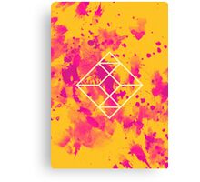 Geometry and Colors XXVII Canvas Print