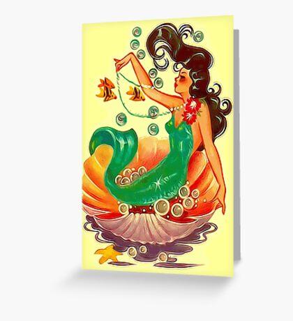 Mermaid 2 Greeting Card