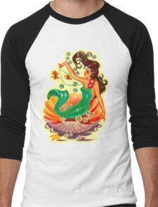 Mermaid 2 Men's Baseball ¾ T-Shirt
