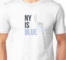 NY Is Blue Unisex T-Shirt