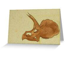 Without a Third Horn Greeting Card