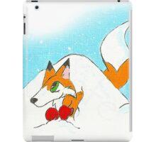 Den in a Snowpile iPad Case/Skin