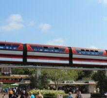 Monorail Disneyland Sticker