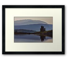 Ardvreck Castle and Loch Assynt Framed Print