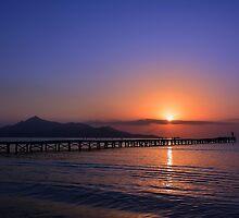 Majorcan Sunrise by Jim Wilson