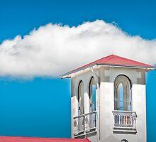 Roof-scape in Penola by Robert Dettman