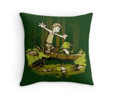 Training We Are Throw Pillow