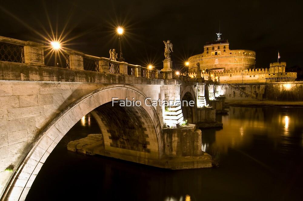 Castel Sant'Angelo by night, Rome, Italy by Fabio Catapane