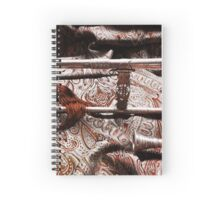 Renaissance Sackbut Decorations Spiral Notebook