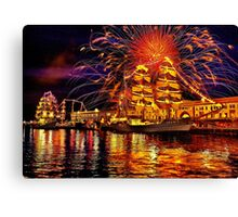 Happy Birthday, America! Canvas Print