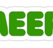 MEEP! Sticker