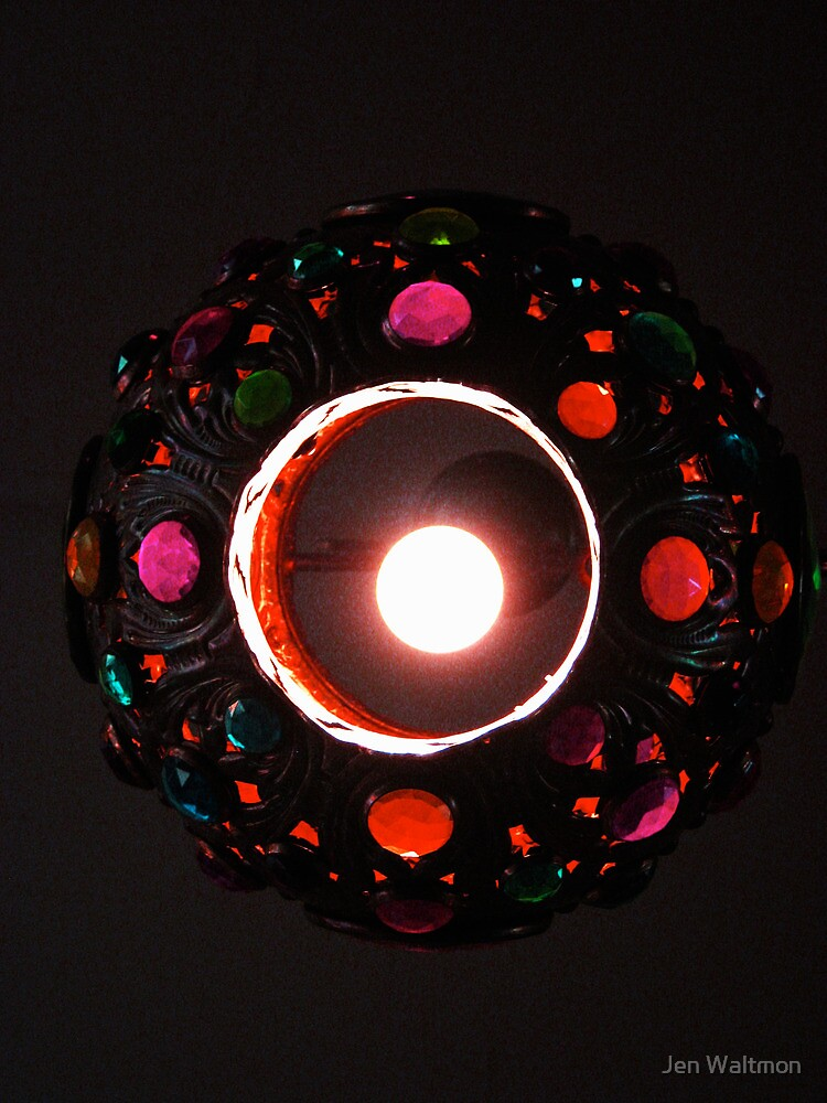 Jeweled Lamp by Jen Waltmon