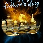 Chess Father's Day Card by Moonlake