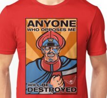 M. Bison Pop Art Street Fighter II Unisex T-Shirt