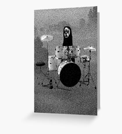 SAD PANDA - CHAOSBEAR... Greeting Card