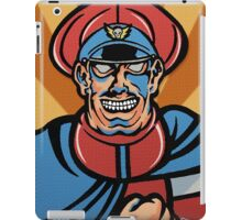 M. Bison Pop Art Street Fighter II iPad Case/Skin