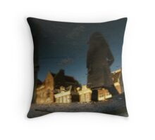 Reflections of Amsterdam - Vague Throw Pillow