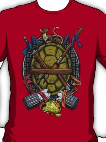 Turtle Family Crest - Full Color T-Shirt
