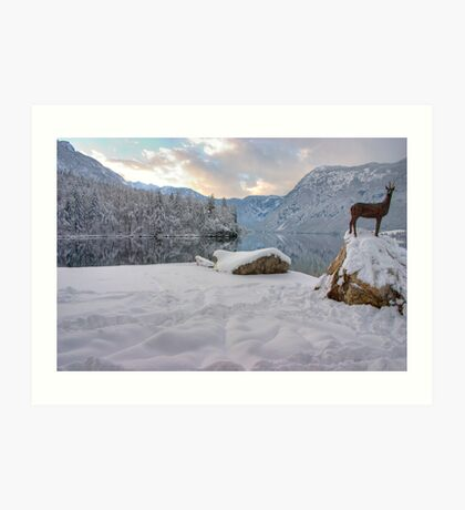 Alpine moods Art Print