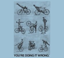 FIXIE | You're Doing It Wrong Kids Clothes